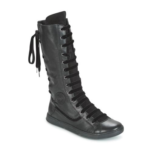 Pataugas JINA Noir - Chaussures Botte ville Femme