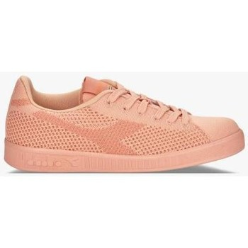 Chaussures Femme Baskets basses Diadora Chaussures game weave heritage sneakers Rose