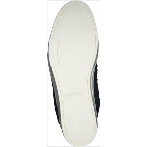 Calvin Gris Baskets Klein Femme E2616 Jeans Basses 5RjL4A
