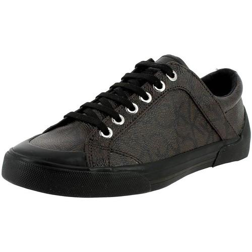 Chaussures Femme Baskets basses Calvin Klein Jeans n12016 marron