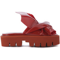 Chaussures Femme Sandales et Nu-pieds N°21 Loves Kartell Ciabatta  modello Knot in PVC rosso Rouge