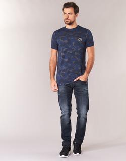 Vêtements Homme Jeans slim Le Temps des Cerises 711 Bleu Médium