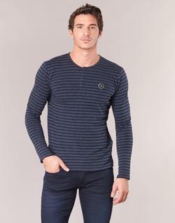 Vêtements Homme T-shirts manches longues Le Temps des Cerises ROGER Marine