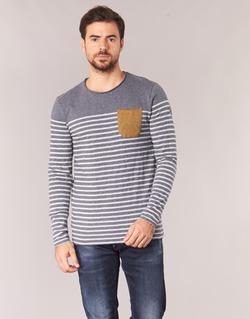 Vêtements Homme T-shirts manches longues Le Temps des Cerises VINCENT Gris
