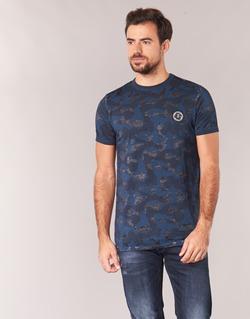 Vêtements Homme T-shirts manches courtes Le Temps des Cerises CAMOSTORK Marine