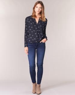 Vêtements Femme Jeans skinny Le Temps des Cerises ULTRAPOWER Bleu Médium