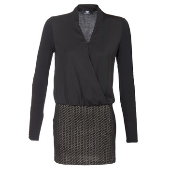Vêtements Femme Robes courtes Le Temps des Cerises MALAYA Noir