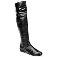 Chaussures Femme Cuissardes So Size HOLA Noir