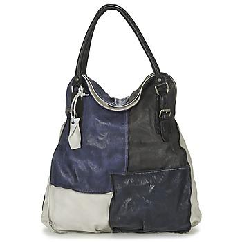 Sacs Femme Sacs porté main Airstep / A.S.98 LOUZI Bleu / Noir