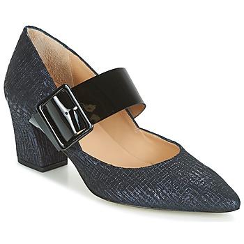 Chaussures Femme Escarpins Perlato JESSY Bleu / Noir