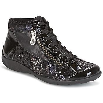 Chaussures Femme Baskets montantes Remonte Dorndorf DORA Noir