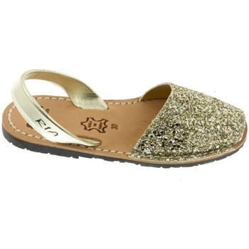 Chaussures Fille Sandales et Nu-pieds Ria Menorquina  Glitter Champagne Dorada Or