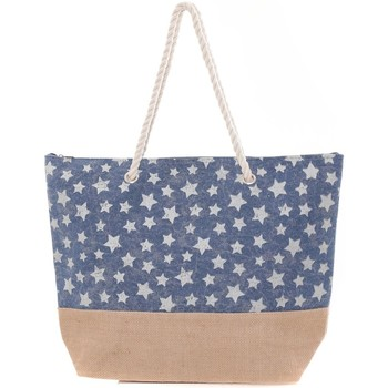 Sacs Femme Cabas / Sacs shopping Mora Mora Sac ALLSTARS Bleu Bleu