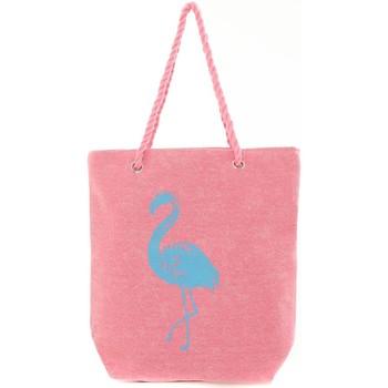 Sacs Femme Cabas / Sacs shopping Mora Mora Sac Flamingo Rose Rose