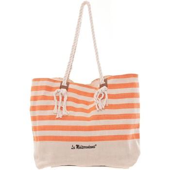Sacs Femme Cabas / Sacs shopping Mora Mora Sac Marina Orange Orange