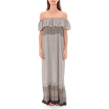 Vêtements Femme Robes longues By La Vitrine Robe Longue Care  of you Noir F50055 Noir