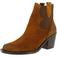 Chaussures Femme Bottines Sixty Seven AKI Marron