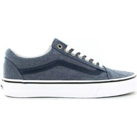 Chaussures Homme Baskets basses Vans Basket  Old Skool Chambray Blue Bleu