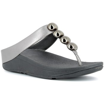 Chaussures Femme Tongs FitFlop Nu-pieds Femme  - ROLA Pewter