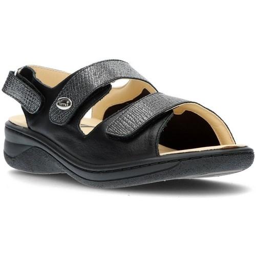 Dtorres JULIA BLACK - Chaussures Sandale Femme