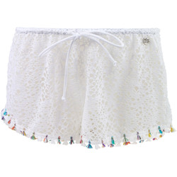 Vêtements Femme Shorts / Bermudas Banana Moon Short de plage  Seethrough Zooey Blanc BLANC
