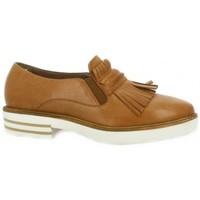 Chaussures Femme Mocassins Donna Più Mocassins cuir Camel