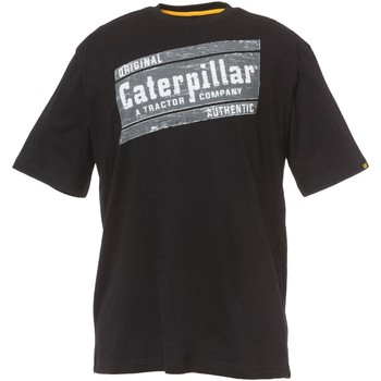 Vêtements Homme T-shirts manches courtes Caterpillar Parallelogram T-Shirt Black