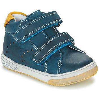 Chaussures Garçon Baskets montantes Babybotte ANTILLES Bleu