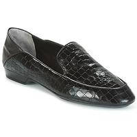 Chaussures Femme Mocassins Robert Clergerie FANIN-COCCO-AGNEAU-NOIR Noir