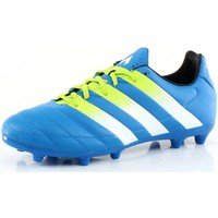 Chaussures Homme Football adidas Originals ACE 16.3 FG/AG Leather Bleu