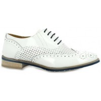 Chaussures Femme Derbies Red Creatyve Derby cuir vernis Blanc