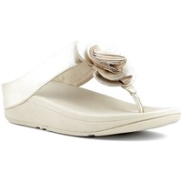 Chaussures Femme Tongs FitFlop Nu-pieds Femme  - FLORRIE TOE-POST Gold