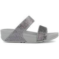Chaussures Femme Mules FitFlop Nu-pieds compensées femme - ELECTRA MICRO SLIDE Pewter