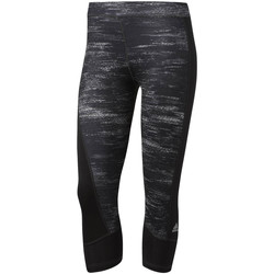 Vêtements Femme Leggings adidas Performance Collants  Techfit Capri Printed noir