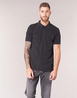 Vêtements Homme Polos manches courtes Replay POLOMI Noir