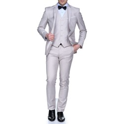 Vêtements Homme Costumes  Jean Louis Scherrer Sch083 Rome Uni 3p Light Beige Beige