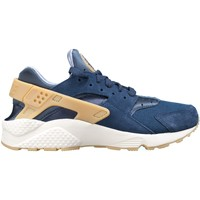 Chaussures Homme Baskets basses Nike Air Huarache Run Se Bleu