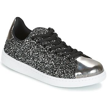 Chaussures Femme Baskets basses Yurban HELVINE Gris / Glitter