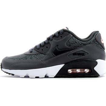 Chaussures Homme Baskets basses Nike Air Max 90 SE Jr Dark Grey / White / Pink / Anthracite
