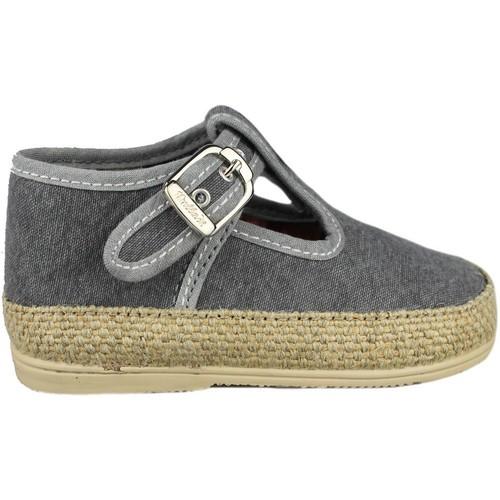 Chaussures Enfant Ballerines / babies Vulladi CANVAS GRIS