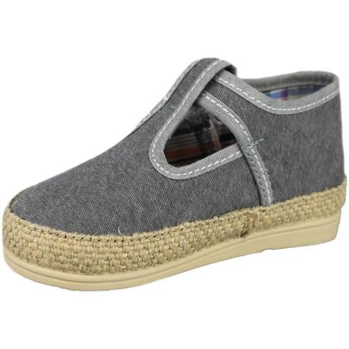 Chaussures BallerinesBabies Enfant Vulladi Canvas Gris 43Rj5LA