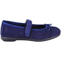 Chaussures Enfant Ballerines / babies Vulladi SERRAJE MANOLETINA VELCRO BLUE
