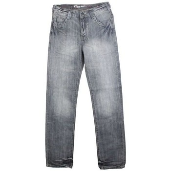 Vêtements Homme Jeans droit Kebello Jeans regular gris