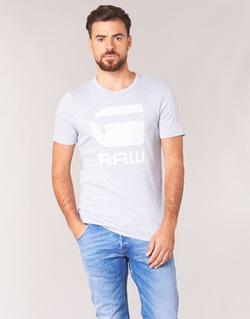 Vêtements Homme T-shirts manches courtes G-Star Raw DRILLON Gris