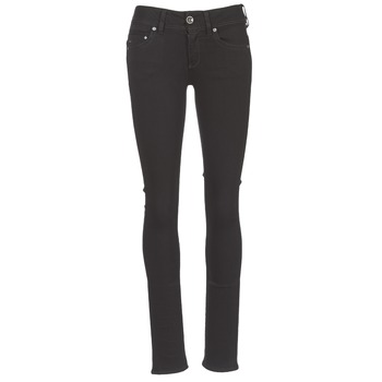 Vêtements Femme Jeans droit G-Star Raw MIDGE SADDLE MID STRAIGHT Noir