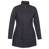 Vêtements Femme Parkas G-Star Raw MINOR CLASSIC PADDED SLIM COAT Noir