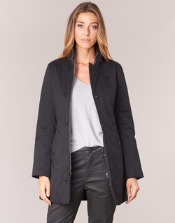 Vêtements Femme Parkas G-Star Raw MINOR CLASSIC PADDED SLIM COAT Noir