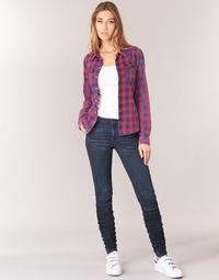Vêtements Femme Jeans skinny G-Star Raw 5620 STAQ 3D MID SKINNY WMN Marine