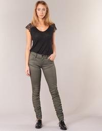 Vêtements Femme Jeans skinny G-Star Raw 5620 STAQ 3D MID SKINNY COJ WMN Kaki