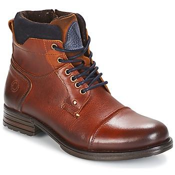Chaussures Homme Boots Coxx Borba AGOZ Camel / Bleu